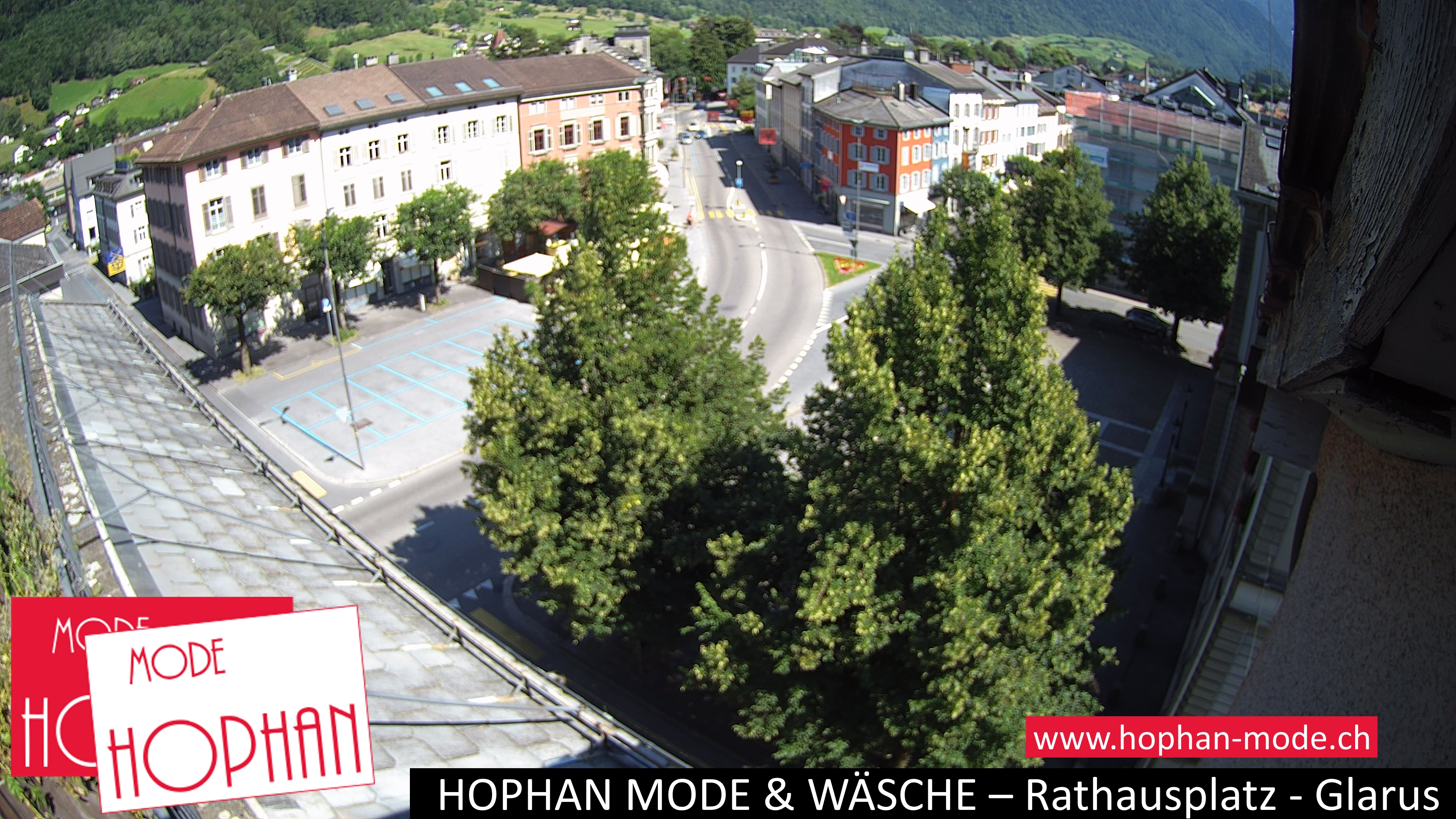 Glarus – Rathausplatz Webcam Live